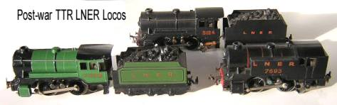 LNER post war three Locos2
