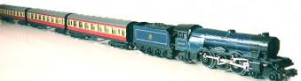 Blue Scotsman 3 coaches